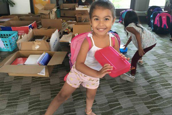 SVDP – School Supplies Project July 10 thru August 14.